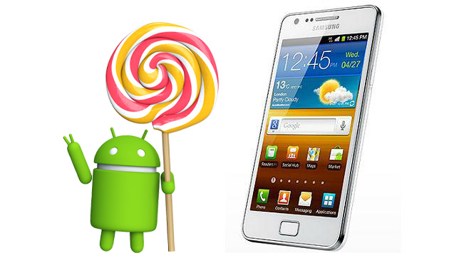 Install Android 5.0 Lollipop On Samsung Galaxy S2