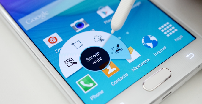 how to take screenshot on samsung galaxy note 5
