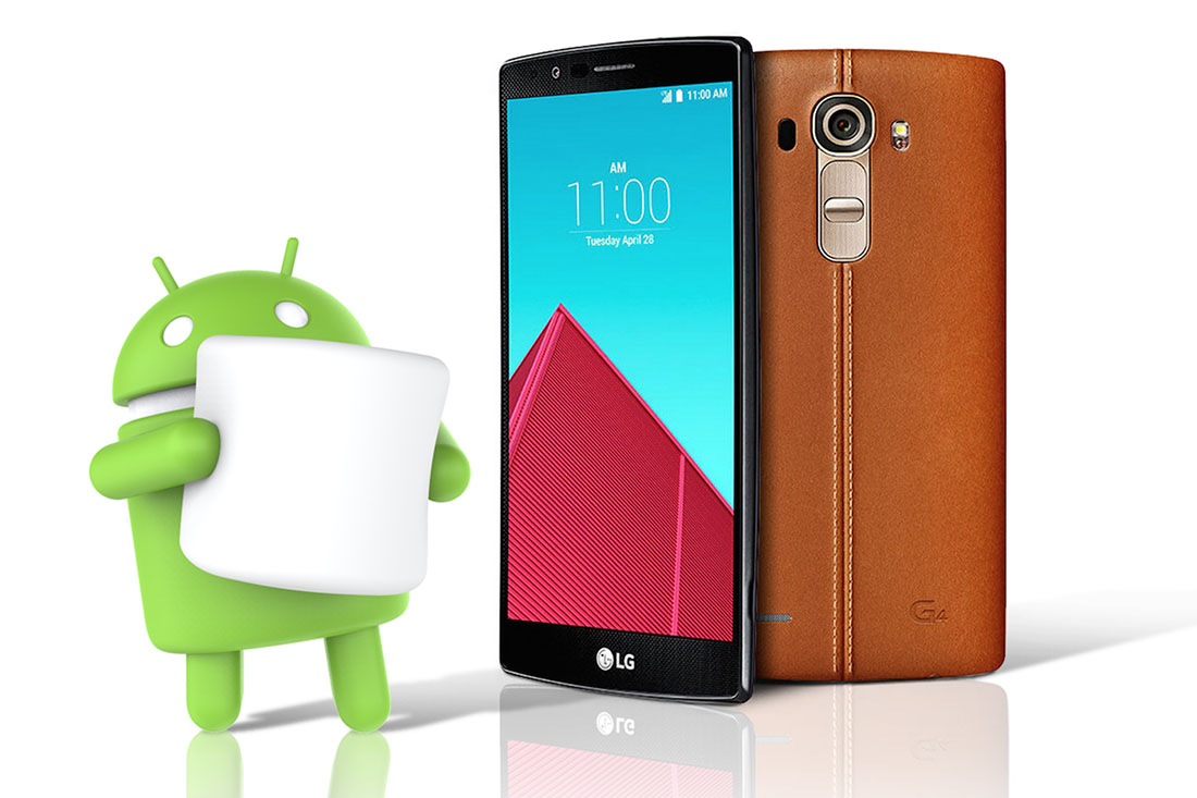 Android 6.0 marshmallow update for LG G4