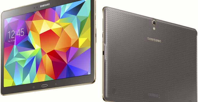 update samsung galaxy tab s to android 7.1 Nougat