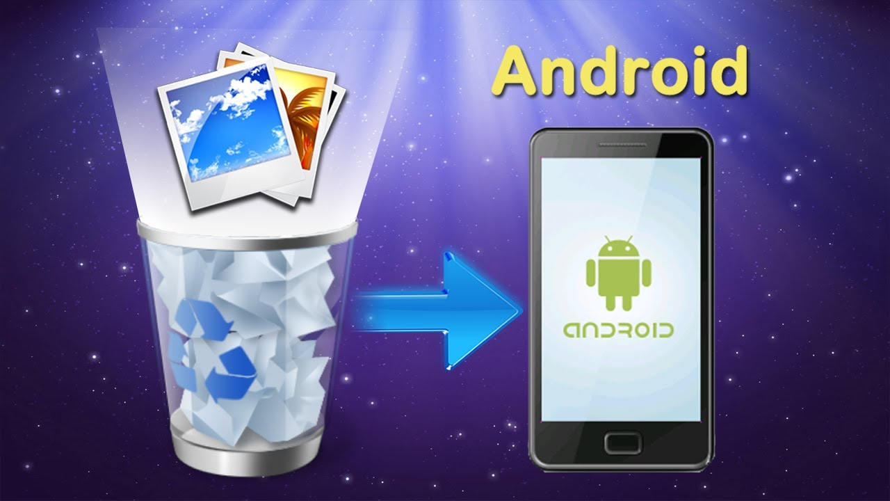 how to recover deleted photos on Android device