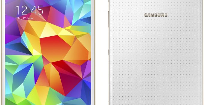 update samsung galaxy tab s 8.4 to android 7.1 nougat AICP rom